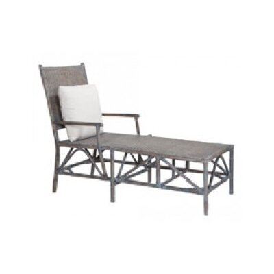 Lacey Woven Rattan Chaise Lounge - Product photo