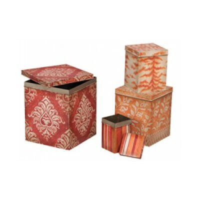 Aurelina 4 Piece Decorative Box Set