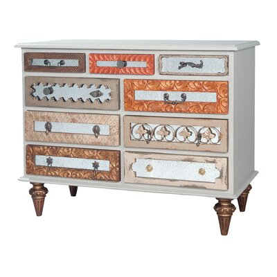 Tabitha Mosaic 9 Drawer Standard Dresser