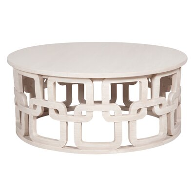Sergio Coffee Table Color: White