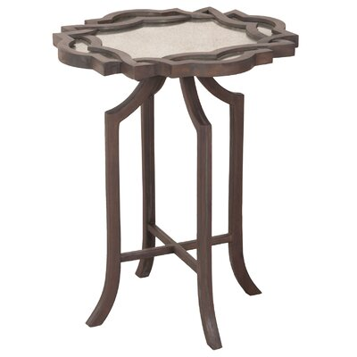 Dawson Carved Top End Table