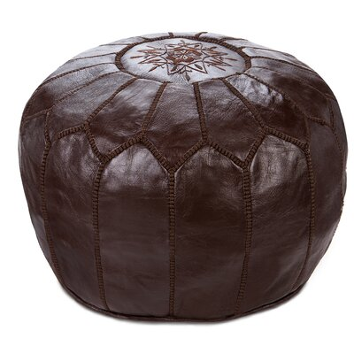 Diamanta Pouf Upholstery: Chocolate