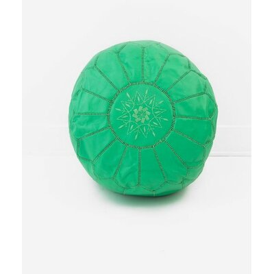 Diamanta Pouf Upholstery: Mint Green