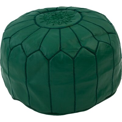 Diamanta Pouf Upholstery: Dark Green