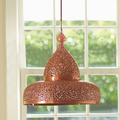 Lisse Open Bottom Hanging Lamp Color: Brirght Copper