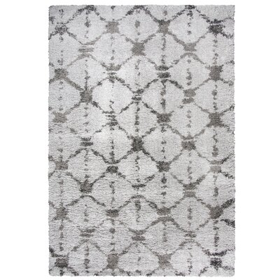 Matias Gray Shag Area Rug Rug Size: Rectangle 710 x 106