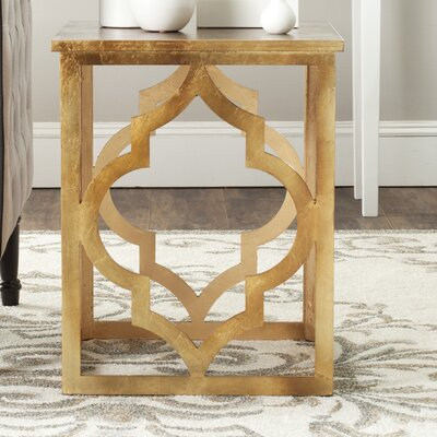 Benicia End Table Finish: Gold Leaf