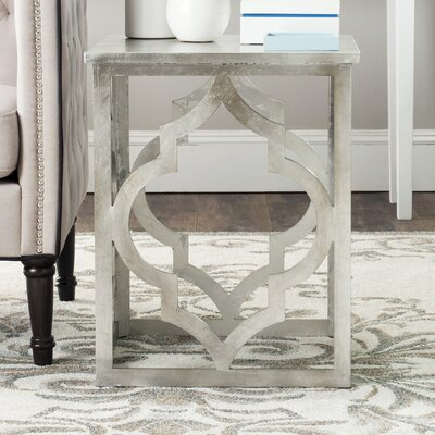 Benicia End Table Finish: Silver Leaf