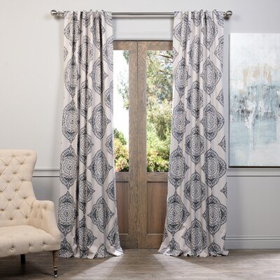 Lance Blackout Thermal Single Curtain Panel