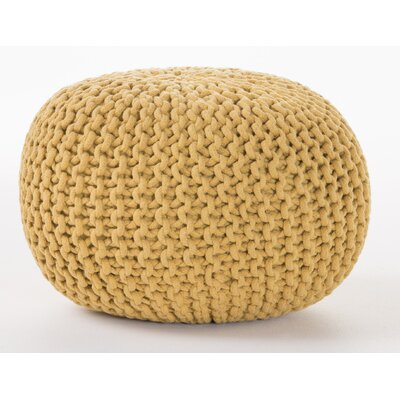 Hesperia Pouf Upholstery: Yellow