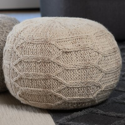 Montclair Pouf Upholstery: Ivory
