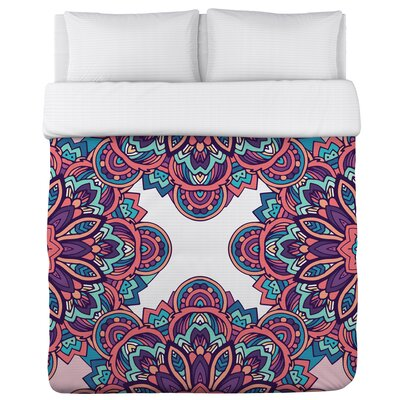 Jasiah Duvet Cover Size: Full/Queen