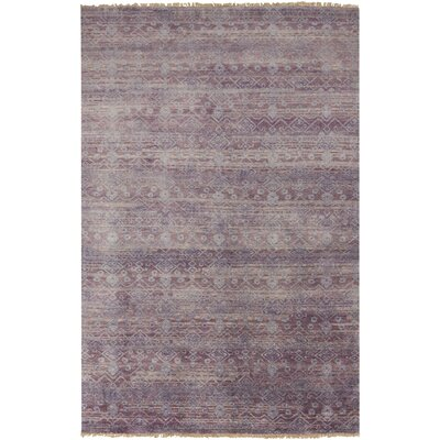 Kelton Mauve Solid Rug Rug Size: Rectangle 86 x 116