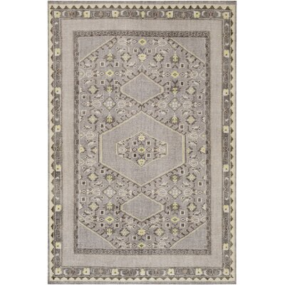 Hagerman Classic Charcoal Area Rug Rug size: Rectangle 8 x 11