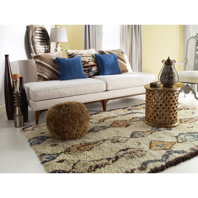 Beufort Beige Area Rug Rug Size: Rectangle 2 x 3
