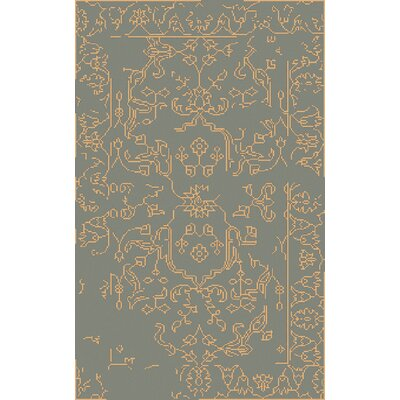 Pittsford Beige/Moss Area Rug Rug Size: Rectangle 33 x 53