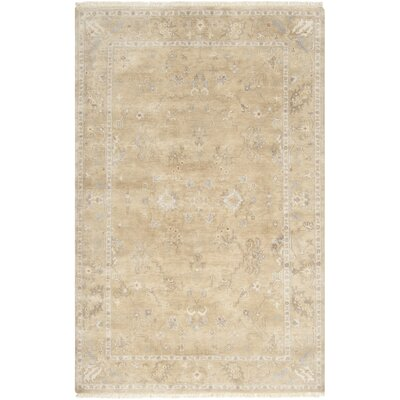 Rehm Beige Area Rug Rug Size: Rectangle 56 x 86