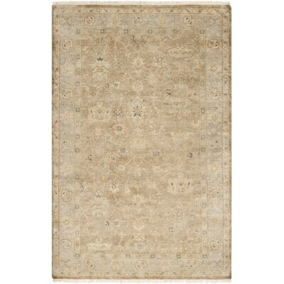 Rehm Beige Area Rug Rug Size: Rectangle 2 x 3