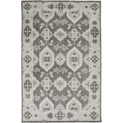 Drachten Charcoal/Light Gray Area Rug Rug Size: Rectangle 56 x 86
