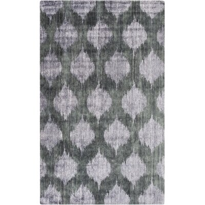 Norwell Gray Area Rug Rug Size: Rectangle 5 x 8