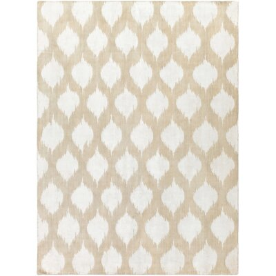 Norwell Beige Chic Area Rug Rug Size: Rectangle 2 x 3