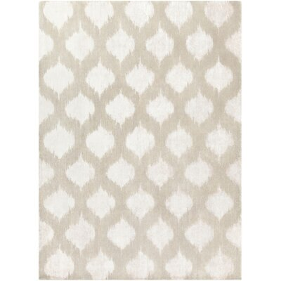 Norwell Light Gray Chic Area Rug Rug Size: 8 x 11