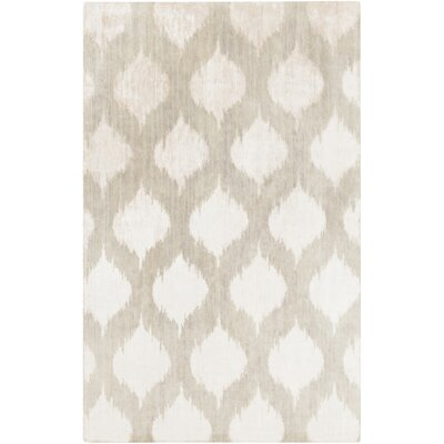 Norwell Light Gray Chic Area Rug Rug Size: 5 x 8