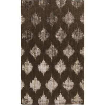 Norwell Chocolate Area Rug Rug Size: 8 x 11