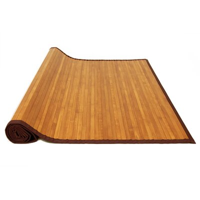 Sloan Stained Bamboo Rug Rug Size: 2 x 3