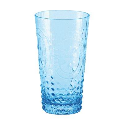 Mcpherson Pressed 14 oz. Juice Glass Color: Blue