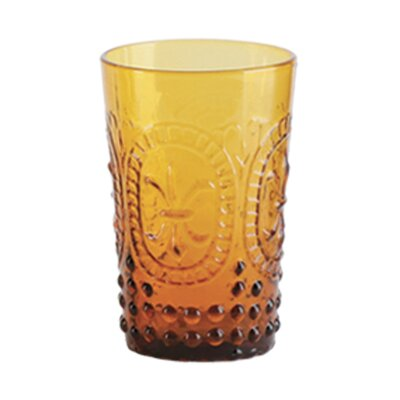 Mcpherson 8 Oz. Juice Glass Color: Amber