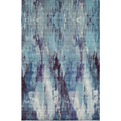 Fujii Blue Area Rug Rug Size: 8 x 8