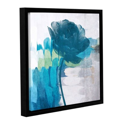 'The Blue Breeze' Framed Painting Print on Canvas Size: 10