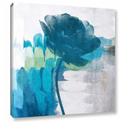 'The Blue Breeze' Painting Print on Wrapped Canvas Size: 10