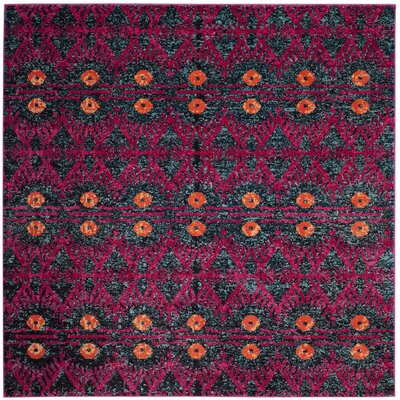 Lafayette Pink Area Rug Rug Size: Square 67