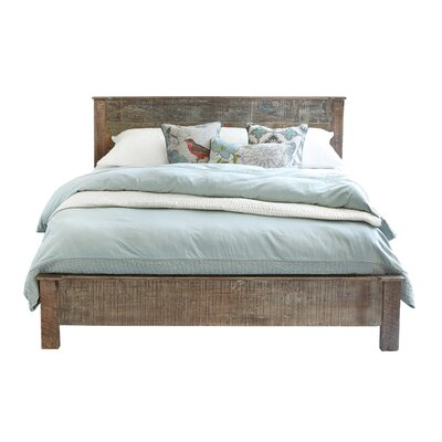Arakaki Platform Bed Finish: Lime Wash, Size: California King