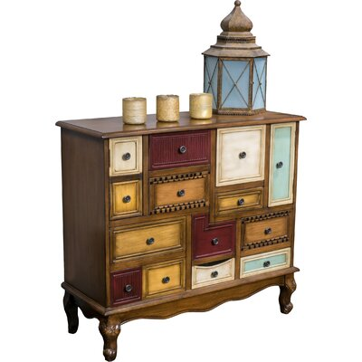 Montgomery 9 Drawer and 2 Door Cabinet