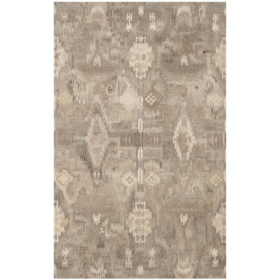 Kouerga Brown Area Rug Rug Size: 4 x 6