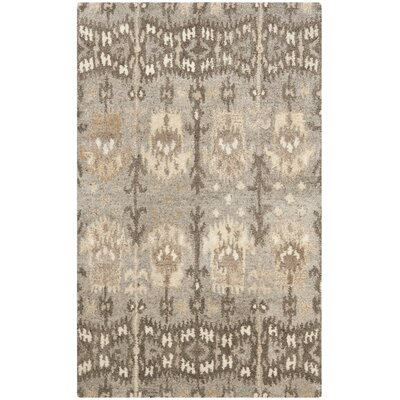 Carpenter Wool Brown Area Rug Rug Size: Rectangle 8 x 10
