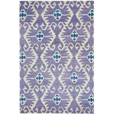Kouerga Lavender Area Rug Rug Size: 10 x 14
