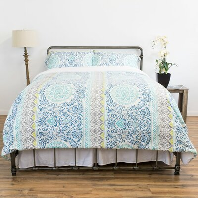 Floyd 3 Piece Reversible Comforter Set Size: Full/Queen