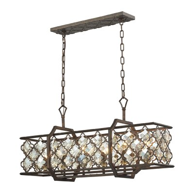 Rivers 6-Light Kitchen Island Pendant