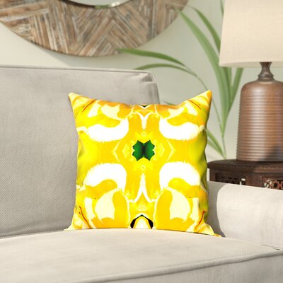 Rose Anne Colavito Throw Pillow Size: 16
