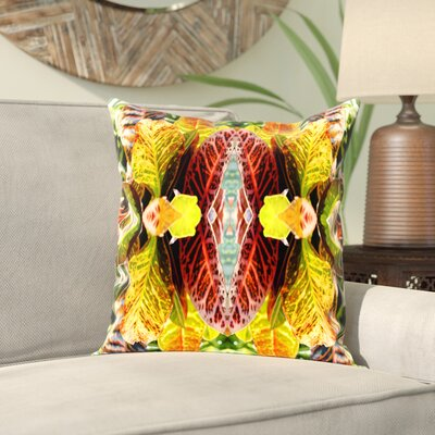 Rose Anne Colavito Taghzour Throw Pillow Size: 18 H x 18 W x 2 D