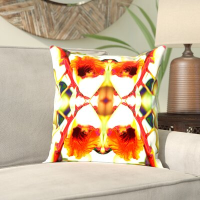 Rose Anne Colavito 4 Throw Pillow Size: 16 H x 16 W x 2 D