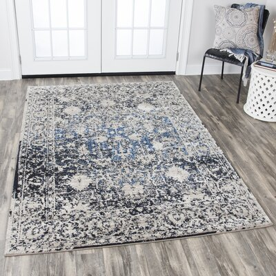 Prince Taupe Area Rug Rug Size: Rectangle 53 x 76