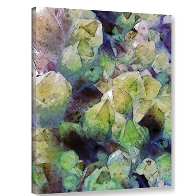'Pastel Crystals' Graphic Art Print on Canvas Size: 10