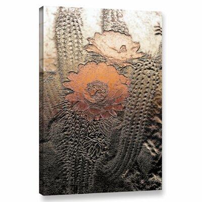 'Prickley Desert Flora' Graphic Art Print on Canvas Size: 12