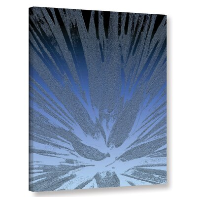 'Modern Agave Blue' Graphic Art Print on Canvas Size: 10