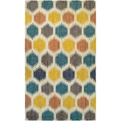 Jemnice Hand Woven Linen/Ocean Area Rug Rug Size: Runner 23 x 71